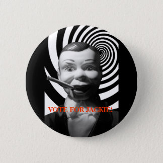 BUTTON / VOTE FOR JACKIE!