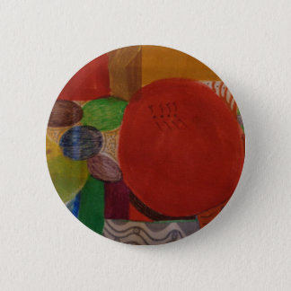 Button with abstract design