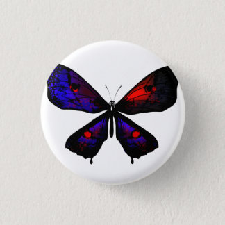 Button with butterfly