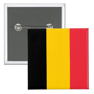 Button with Flag of Belgium