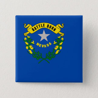 Button with Flag of Nevada