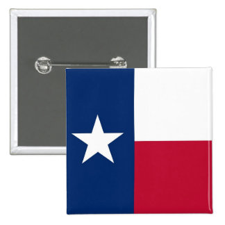 Button with Flag of Texas