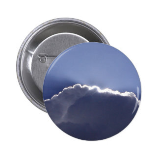 Button with photo of cloud with silver lining