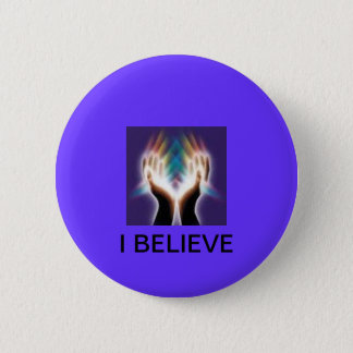 Button with religious verse
