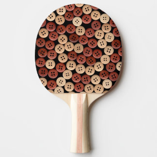 Buttons - Fine Art Photograph Ping Pong Paddle