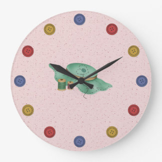 Buttons Large Clock