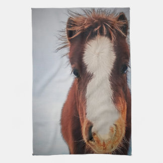 Buttons Pony Kitchen Towel