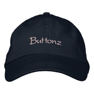 Buttonz Embroidered Baseball Caps
