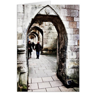 Buttresses of Winchester Cathedral Card