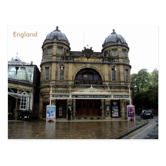 Buxton Opera House, Derbyshire, England. Postcard