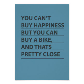 Buy A Bike Poster