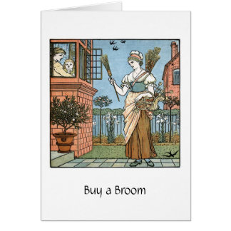 Buy a Broom, Card