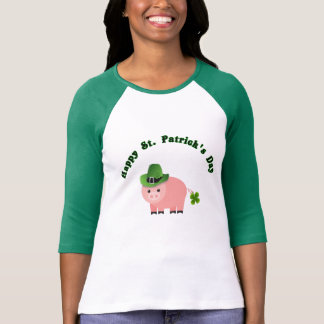 Buy a Cute St Patricks Day T shirt piggy