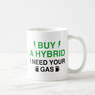 Buy A Hybrid I Need Your Gas Coffee Mug