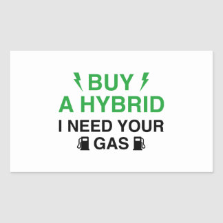 Buy A Hybrid I Need Your Gas Sticker