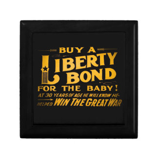 Buy A Liberty Bond for the Baby World War I Gift Box