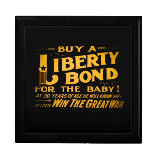 Buy A Liberty Bond for the Baby World War I Trinket Box