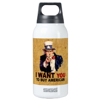 Buy American Insulated Water Bottle