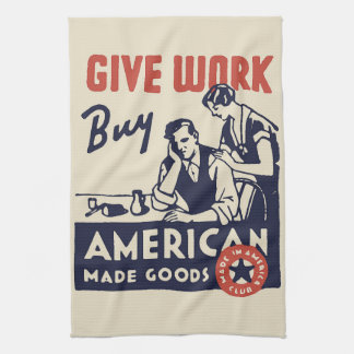Buy American Kitchen Towel