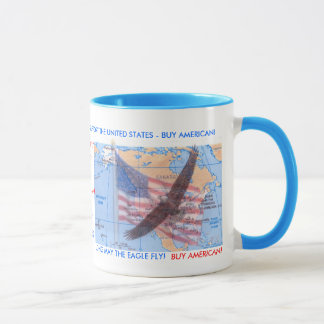 BUY AMERICAN MUG - Customized
