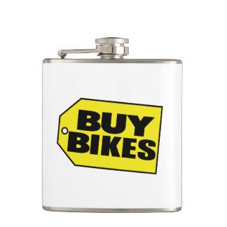 Buy Bikes (Parody) Hip Flask