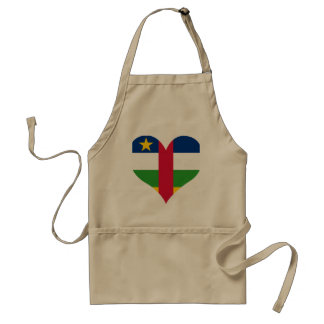 Buy Central African Republic Flag Standard Apron
