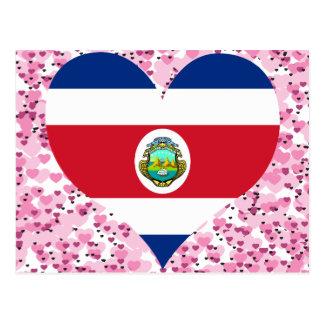 Buy Costa Rica Flag Postcard