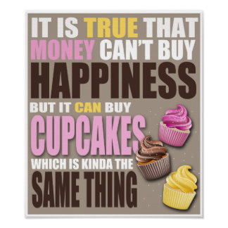 Buy Cupcakes Poster