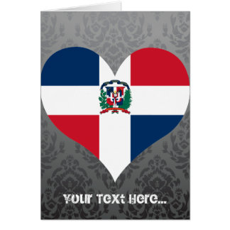 Buy Dominican Republic Flag Card
