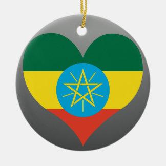 Buy Ethiopia Flag Ceramic Ornament
