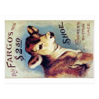 Buy Fargo's New $2.50 shoe Postcard