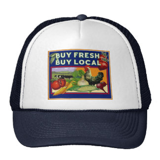 Buy Fresh, Buy Local Trucker Hat
