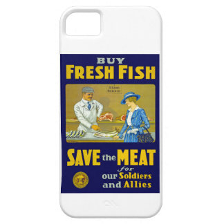 Buy Fresh Fish ~ Save the Meat iPhone 5 Cover