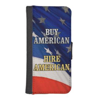 BUY HIRE AMERICAN iPhone SE/5/5s WALLET CASE