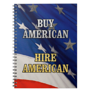 BUY HIRE AMERICAN NOTEBOOKS