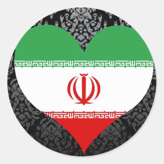 Buy Iran Flag Classic Round Sticker