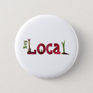 Buy Local 2 Inch Round Button