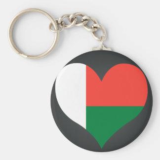 Buy Madagascar Flag Keychain