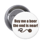 Buy me a Beer bachelor party button