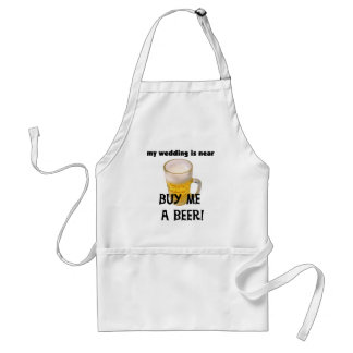 Buy Me a Beer Bachelor Party Tshirts and Gifts Apron