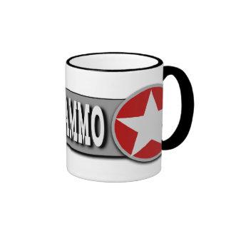 Buy More Ammo Funny 2nd Amendment Ringer Coffee Mug