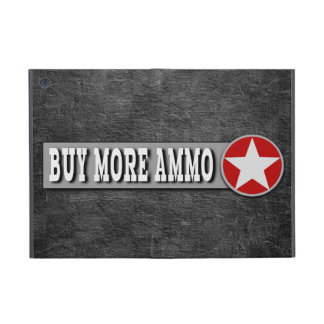 Buy More Ammo Funny Ammunition Logo Cover For iPad Mini
