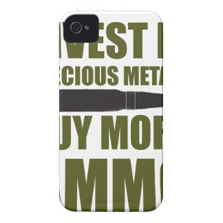 Buy more Ammo, invest in Metal Case-Mate iPhone 4 Case