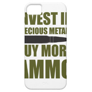 Buy more Ammo, invest in Metal iPhone 5 Cover