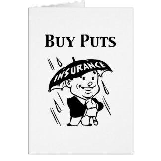 Buy Puts Card