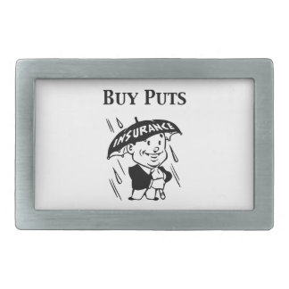 Buy Puts Rectangular Belt Buckle