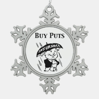 Buy Puts Snowflake Pewter Christmas Ornament