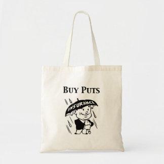 Buy Puts Tote Bag