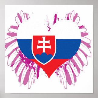Buy Slovakia Flag Poster
