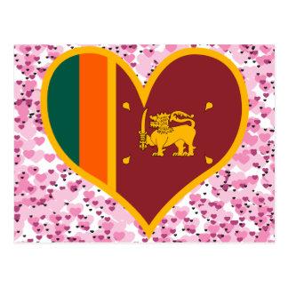 Buy Sri Lanka Flag Postcard